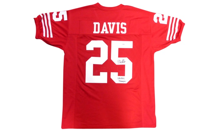 e23afe672cf Up To 42% Off on Eric Davis Autographed Custom... | Groupon Goods