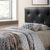 Kirchem Twin-Sized Faux Leather-Upholstered Headboard