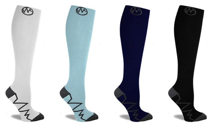 b8203fbac9 Premium Athletic Fit Compression Socks for Women & Men 20-30 mmHg ...