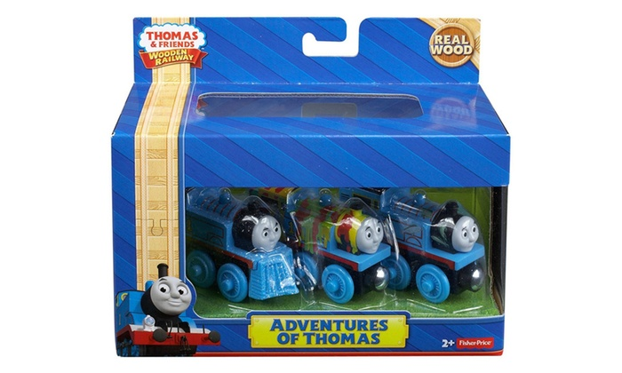 Fisher Price Thomas The Train Wooden Railway Adventures Of