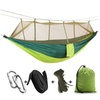 Outdoor 2-Person parachute hammock with Built-in Mosquito Net