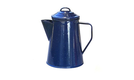 Alpine Mountain Gear 8 Cup Enamel Coffee Percolator 11d17bb5-f677-411a-af87-9ebf586bc73d