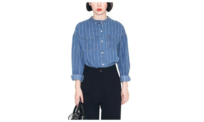 DPN Women's Cotton Fashion Autumn Denim Jackets