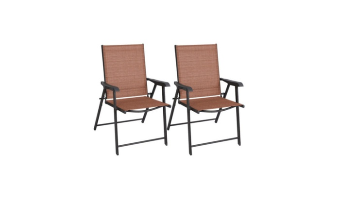 Ventarion: Giantex Outdoor Patio Folding Chairs Furniture Camping Deck  Garden   2× Chairs