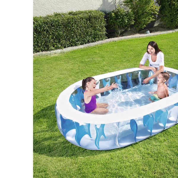 H2O GO! 7.5\', 4.9\', or 4\' Inflatable Swimming Pool