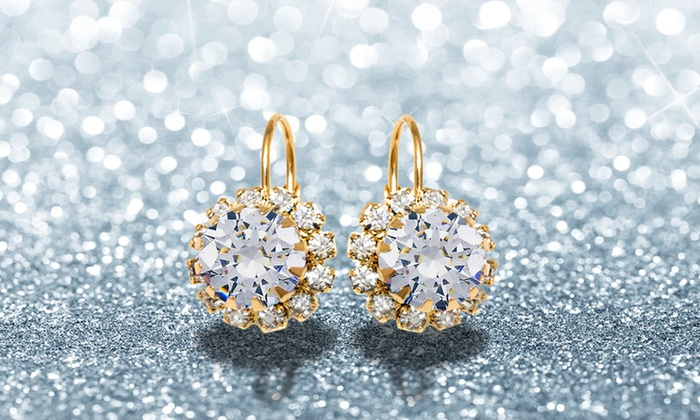 549ce56909a17 Up To 80% Off on Swarovski Elements Earrings | Groupon Goods