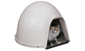 Petmate Kitty Kat Condo Cat Hideaway Bed