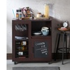 Furniture of America Nifta Mobile Buffet