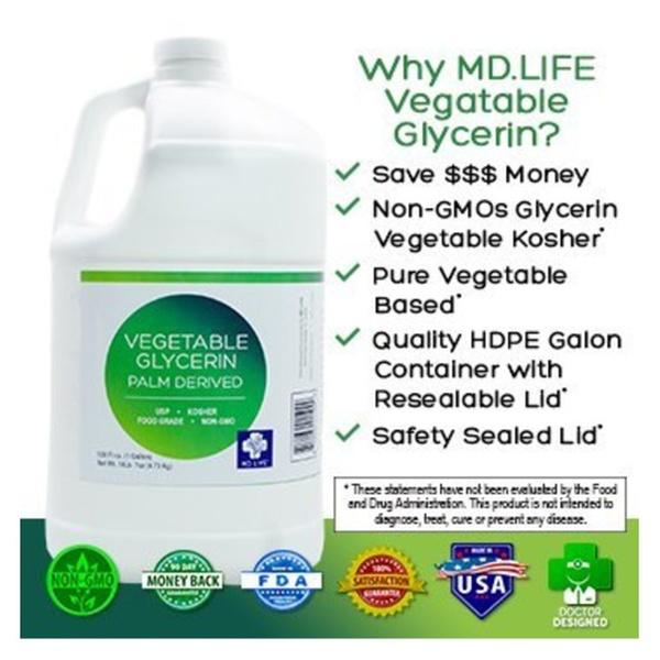 Vegetable Glycerin Palm Derived