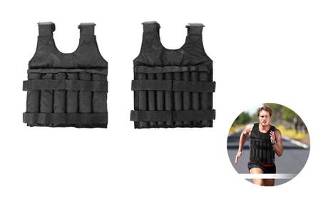 20/50 kg Loading Adjustable Weighted Vest Fitness Training Exercise Waistcoat