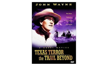 Texas Terror / The Trail Beyond with John Wayne & Noah Beery DVD da4c2c5a-3fee-4b91-b434-5741a617acce