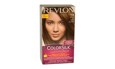 Revlon colorsilk Luminista No.114 Dark Golden Brown Women abbd1c47-35b0-44d0-a62e-2a13a97dd9fe