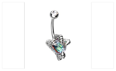 Dragon's Claw Belly Button Ring df2173ac-8705-47ea-9657-9c7341a54ab3