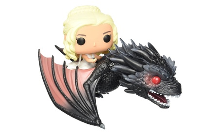 Game of Thrones Dragon & Daenerys Action Figure 067d601d-8934-439a-9a44-2a22e2668999