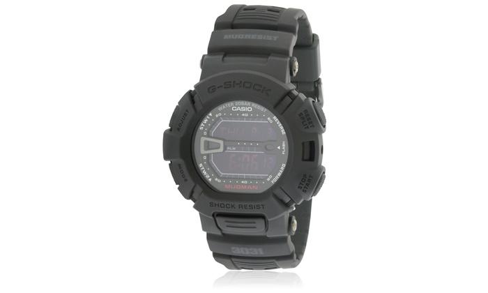 7a71c378692 Casio Men s G-Force Military Concept Black Digital Watch G9000MS-1CR Black  Black