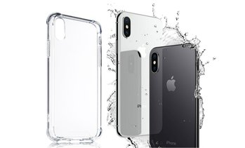 InTech Case for Apple iPhone X with Hybrid Drop Protection