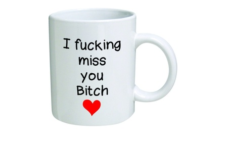 I F miss you bitch red heart Coffee Mugs f9b2c141-969b-4717-b983-d1b700729d90