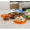 Glass Lid Food Storage Container, 14-Piece Set Oven Safe