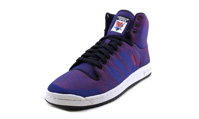 buy popular ab94a b34d0 Adidas Top Ten Hi Woven D69547 Mens Fashion Sneakers Blue  G
