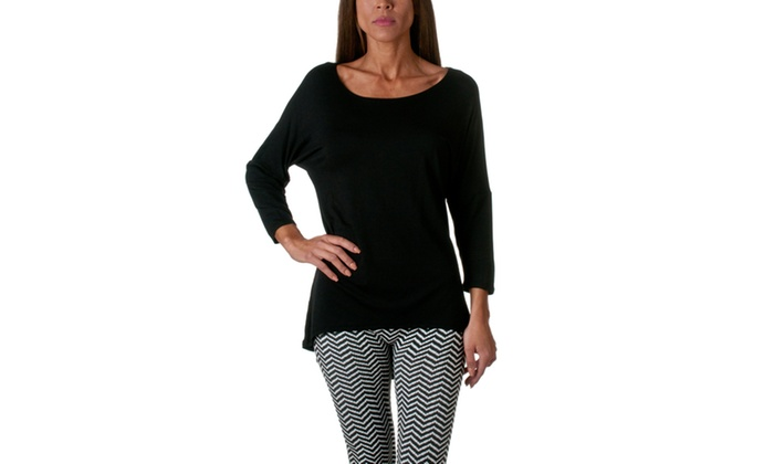 Riverberry Long Sleeve Tunic Top B2000-1