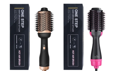 Hair Dryer Brush Hot Air Brush Hair Dryer Volumizer Brush Blow Dryer Curling