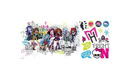 Roommates Decor Monster High Group Giant Wall Decals 907059cf-c384-4764-aaee-b046c79d797f