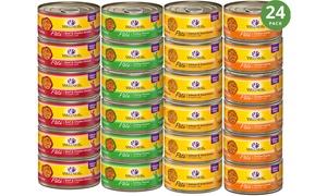 Wellness Grain-Free Cat Wet Food Pate (12- or 24-Variety Pack)