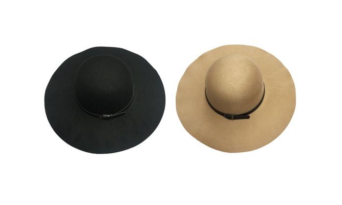 Belted Floppy Hat