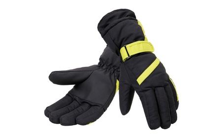 Women's Winter Sportswear Cuffed Ski Gloves