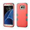 Insten Tuff Hard Hybrid Case For Samsung Galaxy S7 Edge Pink/teal