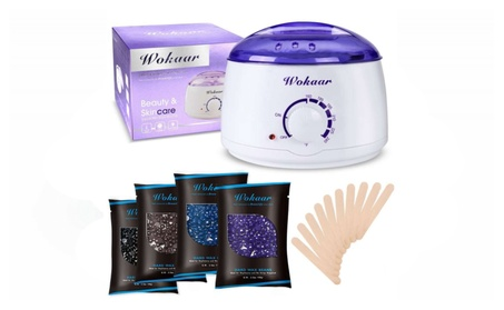 Rapid Melt Hair Removal Waxing Kit Electric Hot Wax Warmer 1e1c6df3-dc28-4351-a637-33dff390f77a