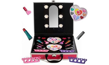 Pretend Play Makeup for Princess Girls Cosmetic Set