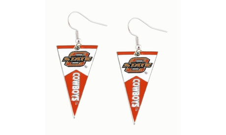 Oklahoma State Cowboys NCAA Pennant Dangle Earring 9d446250-489b-434c-9f1b-0943e55f656b