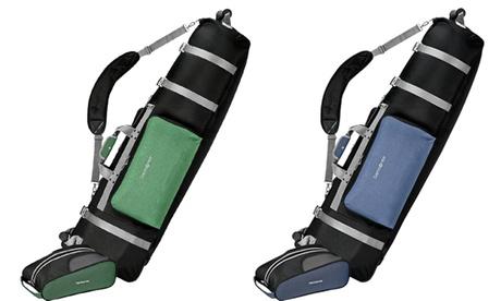 Samsonite Padded Wheeling Golf Travel Cover plus Free Shoe Bag 4b671aae-a6a4-4b7c-99b2-0d0ad4b21ad5