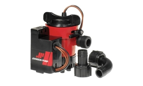 Johnson Pump 05503-00 Johnson Pump 500GPH Auto Bilge Pump 3-4.in 12V Mag Switch photo