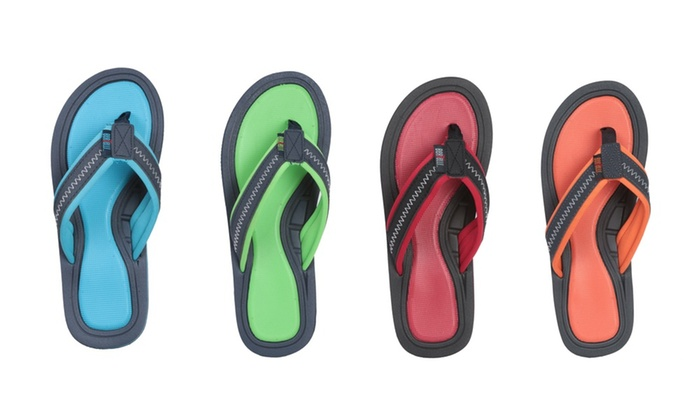 Up To 29 Off On Bertelli Men S Foam Flip Flops Groupon Goods