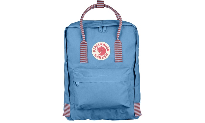 afa40d2875ff Fjallraven - Kanken Classic Backpack for Everyday - Air Blue-Striped ...