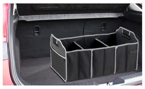 Car Trunk Organizer, Black, 3 Large Sections of Storage at Buy It Now , plus 6.0% Cash Back from Ebates.