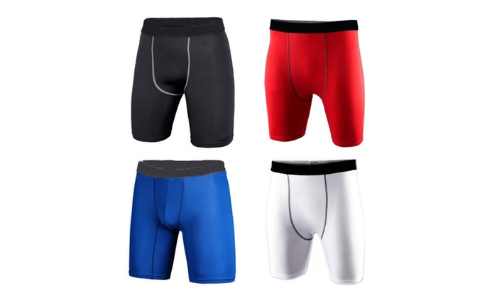 Men's Compression Athletic Sport Shorts