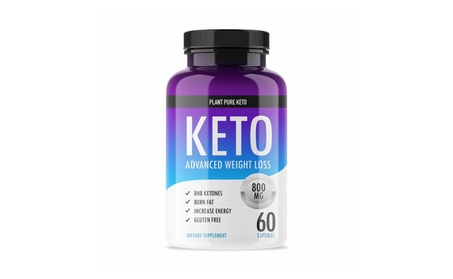 Plant Pure Keto - Ketogenic Fat Burner for Advanced Weight Loss
