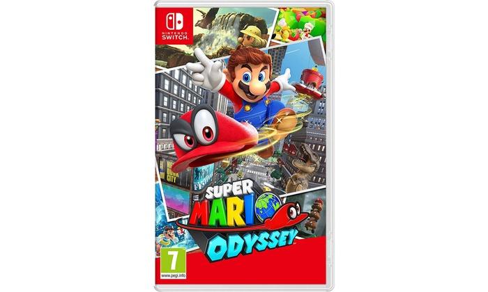 Super Mario Odyssey For Nintendo Switch Groupon