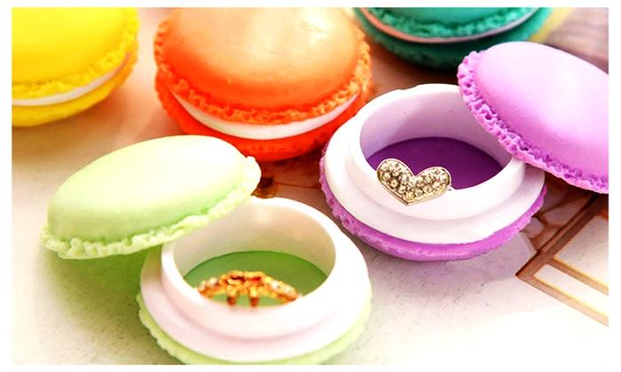 Super Cute Macaron Carrying Case (6-piece set)