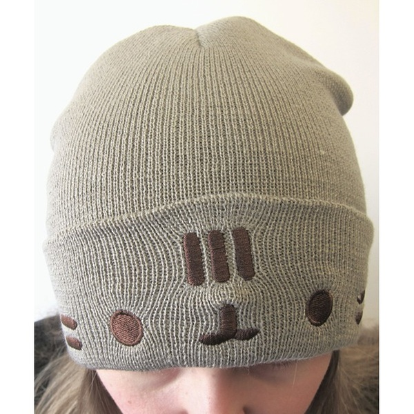 832ef00fb4a Pusheen the Cat Knit Beanies w  Ears