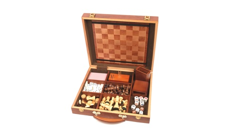 6 in 1 Attache Game Compendium - Six Games in One Case f56ee88c-b6f0-4dc3-9fcf-0ba7c35413ec