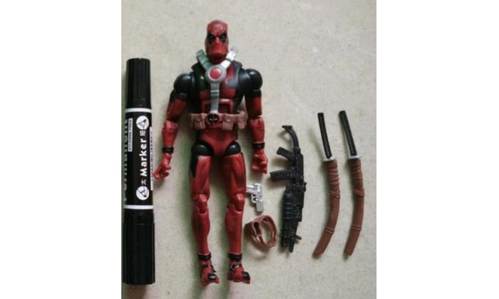 6/'/' Marvel Universe Comic Superhero X-Men Deadpool Collect PVC Action Figure Toy