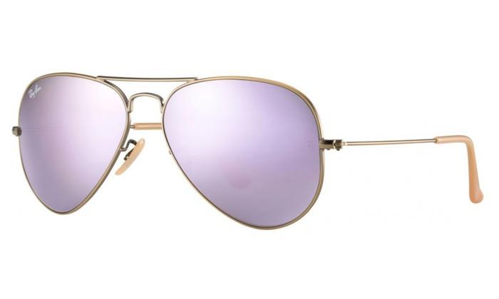 Ray-Ban Aviator Flash Lens Sunglasses