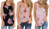 Leo Rosi Women's Carrie Floral Tank S-2X