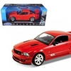 Welly 12569r 2007 Ford Mustang Shelby Saleen S281E Red 1-18 Diecast Model Car