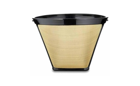 Medelco GF214 #4 Cone-Style Permanent Coffee Filter -8 to 12 cup 2abbfee3-b75a-4bfe-b910-733de8ec256f