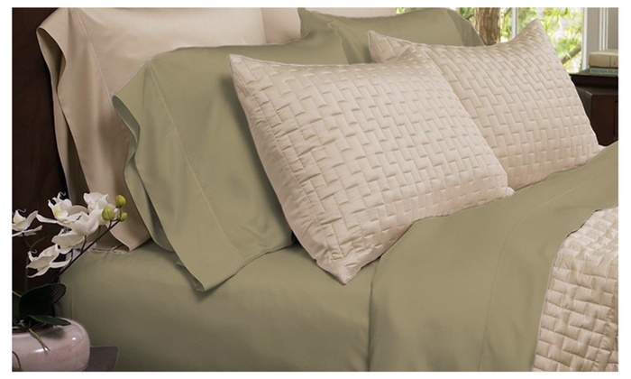 4 Piece Set: Super Soft Premium Bamboo Fiber Bed Sheets ...